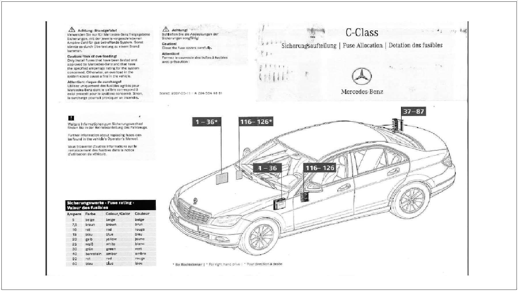 To 2813 C300 Mercedes Engine Coolant Diagram Schematic Wiring