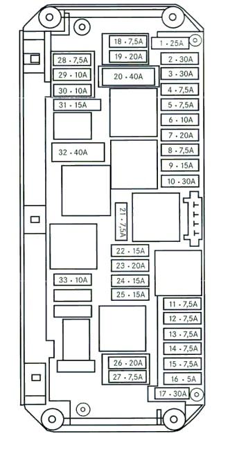 We 6023 96 Cadillac Fuse Box Wiring Diagram
