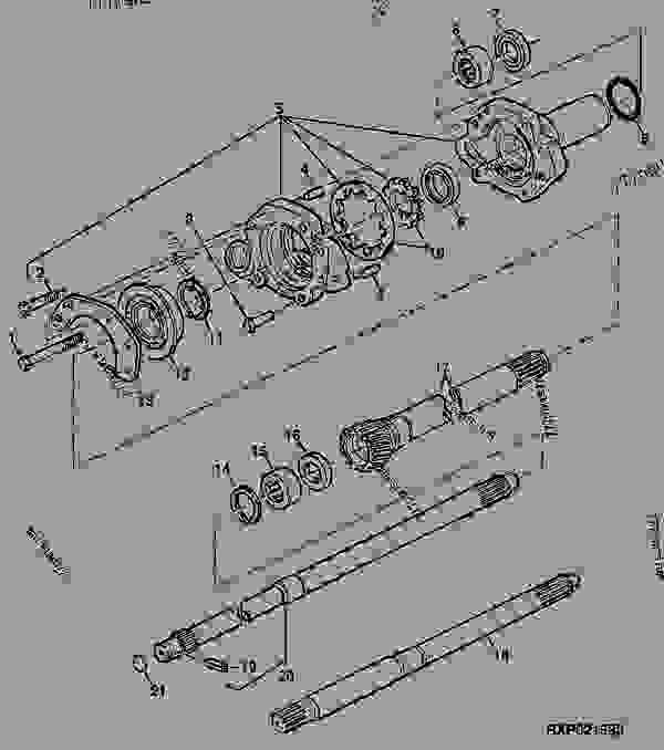 Wm 3975  2040 John Deere Light Diagram Download Diagram