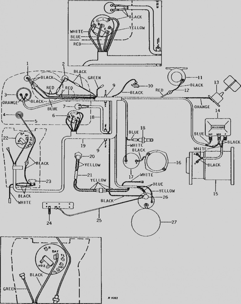 Gk 4087  2040 John Deere Light Diagram Wiring Diagram