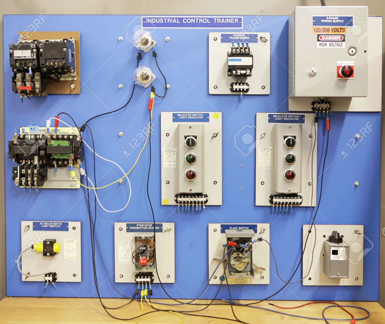 St 4231  Electrical Panel Board Wiring Training Schematic Wiring