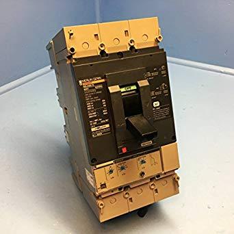 Merlin Gerin NSJ400H 160//400A Breaker w// Operating Mechanism 3P NSJ400 H 400 Amp