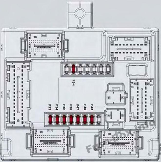 mt3697 86 alfa romeo gtv6 fuse box diagram circuit wiring