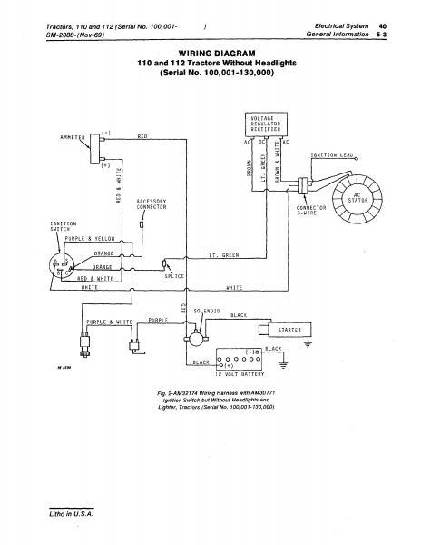 MD_0679] John Deere 112 Wiring Schematics Download DiagramHabi Inrebe Mohammedshrine Librar Wiring 101