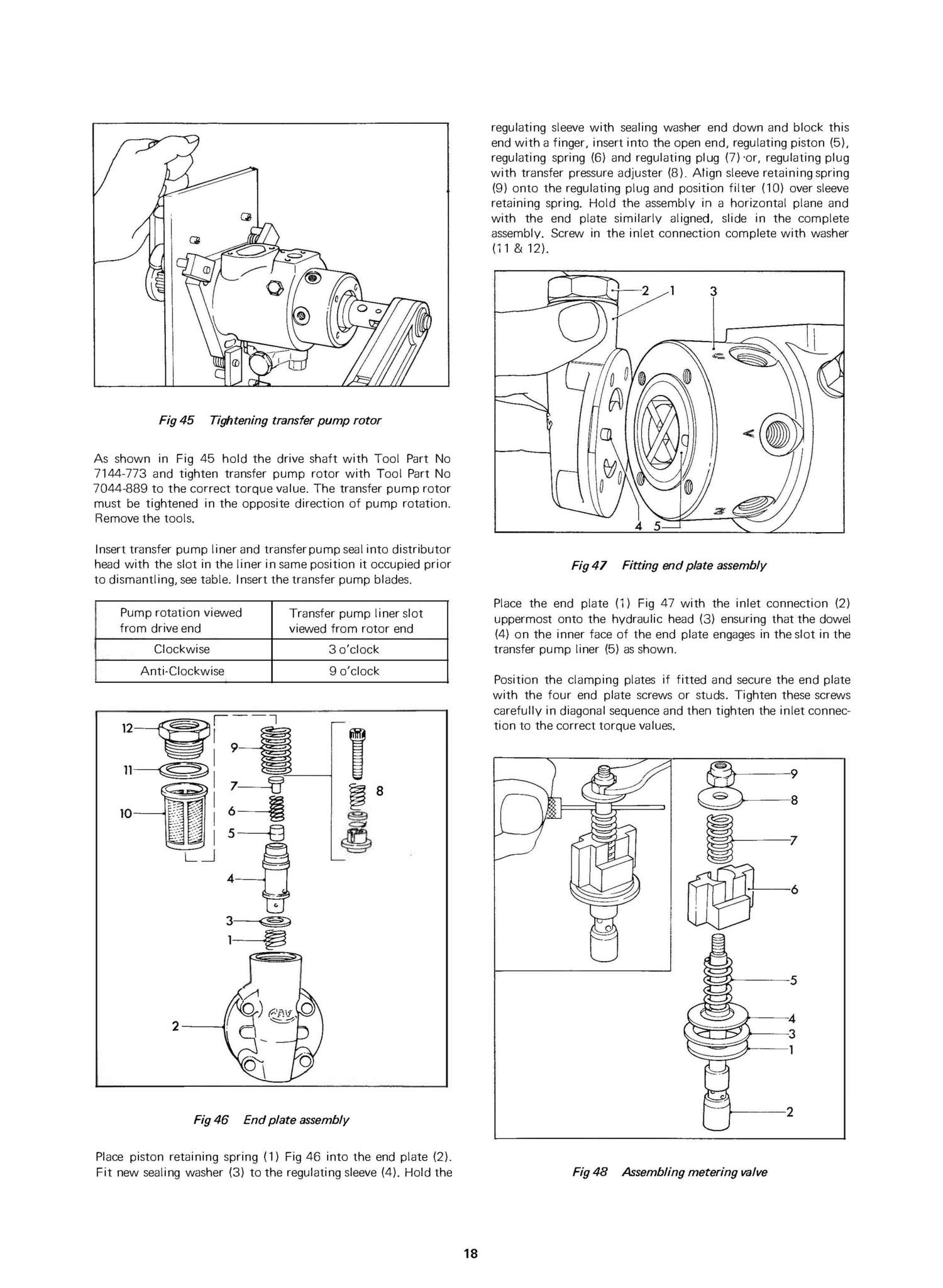 fits mechanically governed DPA rotary/distributor type on MF/Ford ...