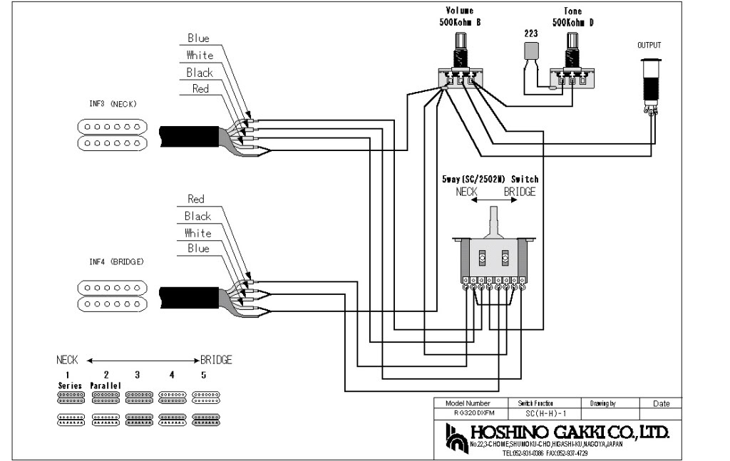 ibanez rg370dx wiring diagram