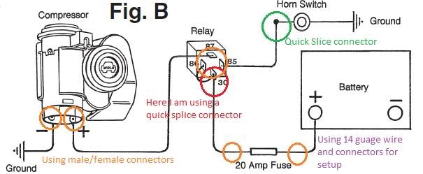 bad boy air horn wiring diagram  s500 fuse box  audia3