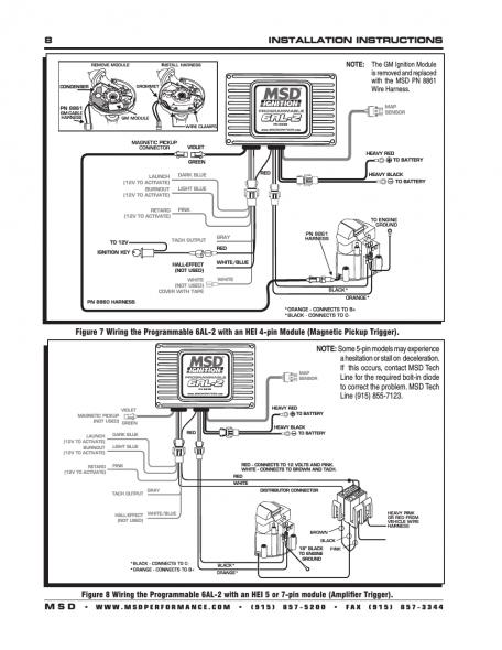 Rd 9158 Msd Programmable 6al Digital Wiring Diagram 2 Wiring