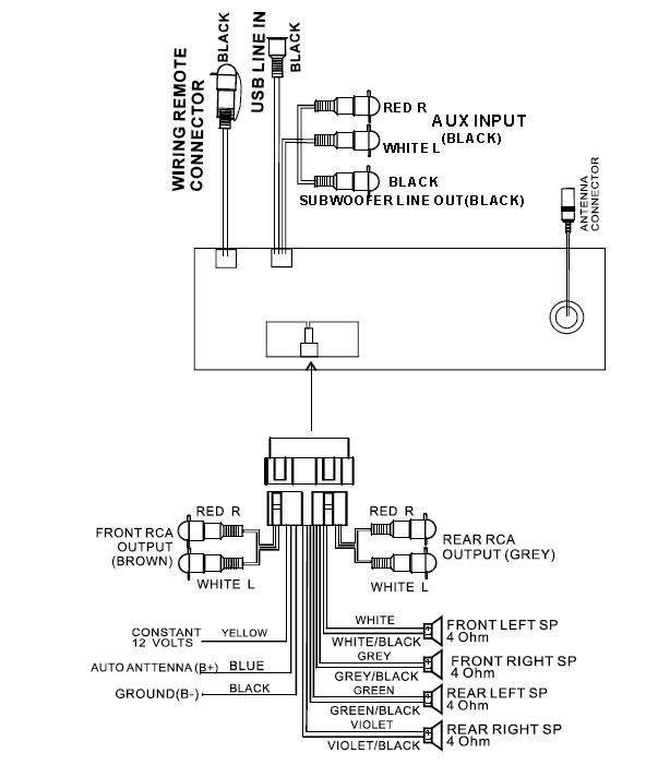 Boss Car Stereo Wiring Diagram - 69 Camaro Tachometer Wiring Harness -  1994-chevys.ati-loro.jeanjaures37.frWiring Diagram Resource