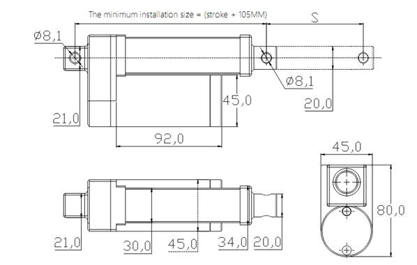 Yf 8183 15000 Linear Actuator Wiring Diagram Free Diagram