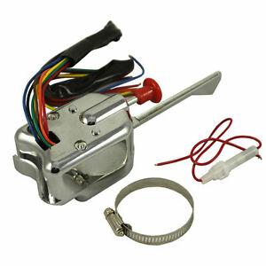 Superb Durable Chrome 12V Universal Street Hot Rod Turn Signal Switch For Wiring Cloud Ittabisraaidewilluminateatxorg