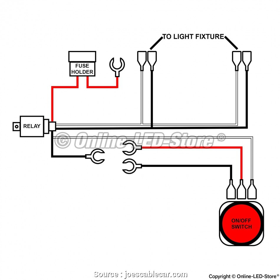 Vl 2382 How To Wire Led Light Bar Without Relay Free Diagram