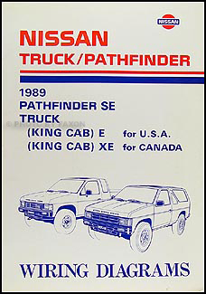 Super 1989 Nissan Truck And Pathfinder Wiring Diagram Manual Original Wiring Cloud Vieworaidewilluminateatxorg