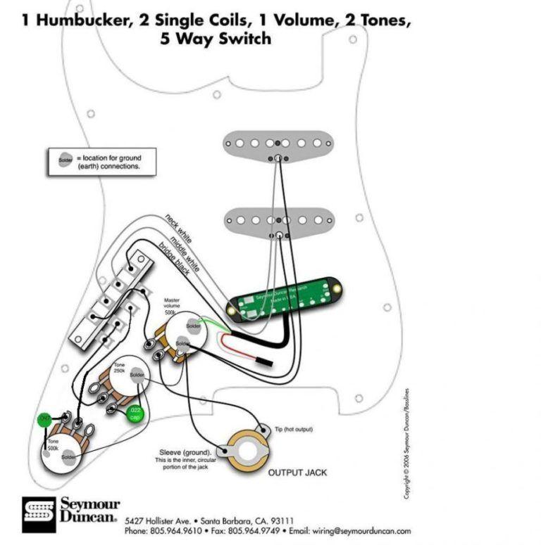 Fender Scn Wiring Diagram Schematic