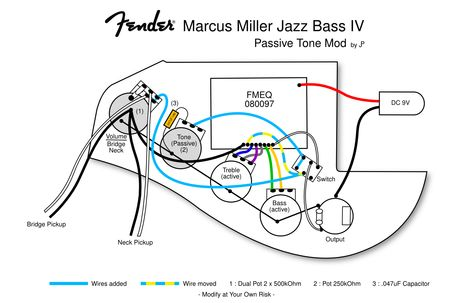 active jazz bass wiring diagram  2009 hhr fuse box diagram