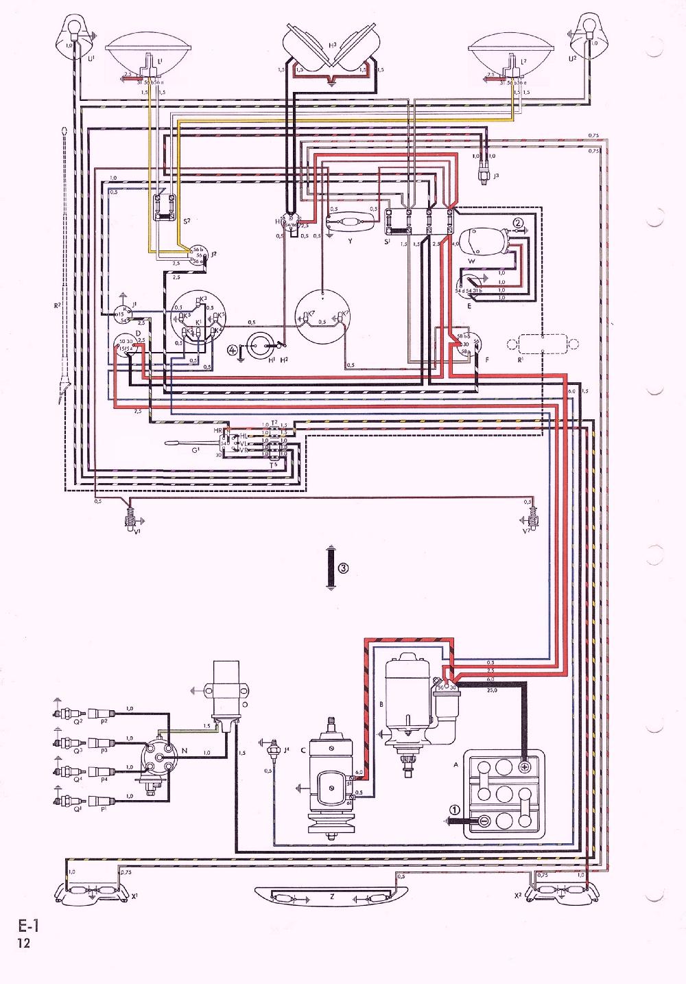 Km 4951 Diagram Moreover 1967 Vw Karmann Ghia Wiring Diagram On 69 Vw Ghia Schematic Wiring