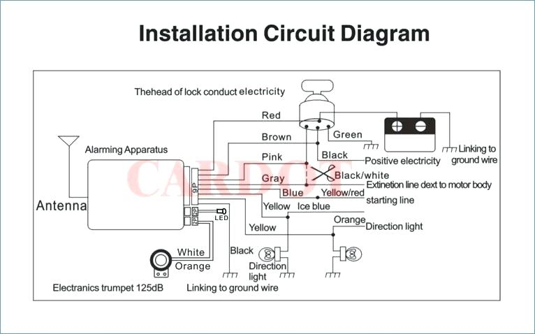 Karr Security System Wiring Diagram