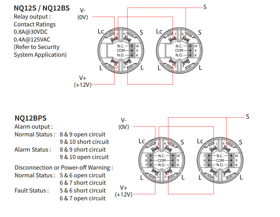 Vn 0553 Detector Circuit Diagram Together With Smoke Detector