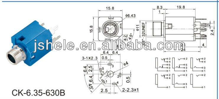 Sf 7856 3 5mm Mono Jack Wiring Diagram Wiring Diagram