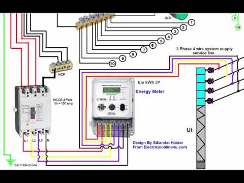 Lm 8698 Diagram Of Wiring 3 Phase Distribution Board On