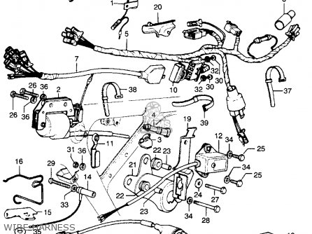 SE_1311] Wiring Harness Diagram As Well 1974 Honda Xl 250 Wiring Diagram On  3 Schematic WiringFuni Gray Onom Denli Mohammedshrine Librar Wiring 101