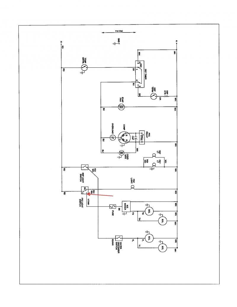 Traulsen Refrigerator Wiring Diagram