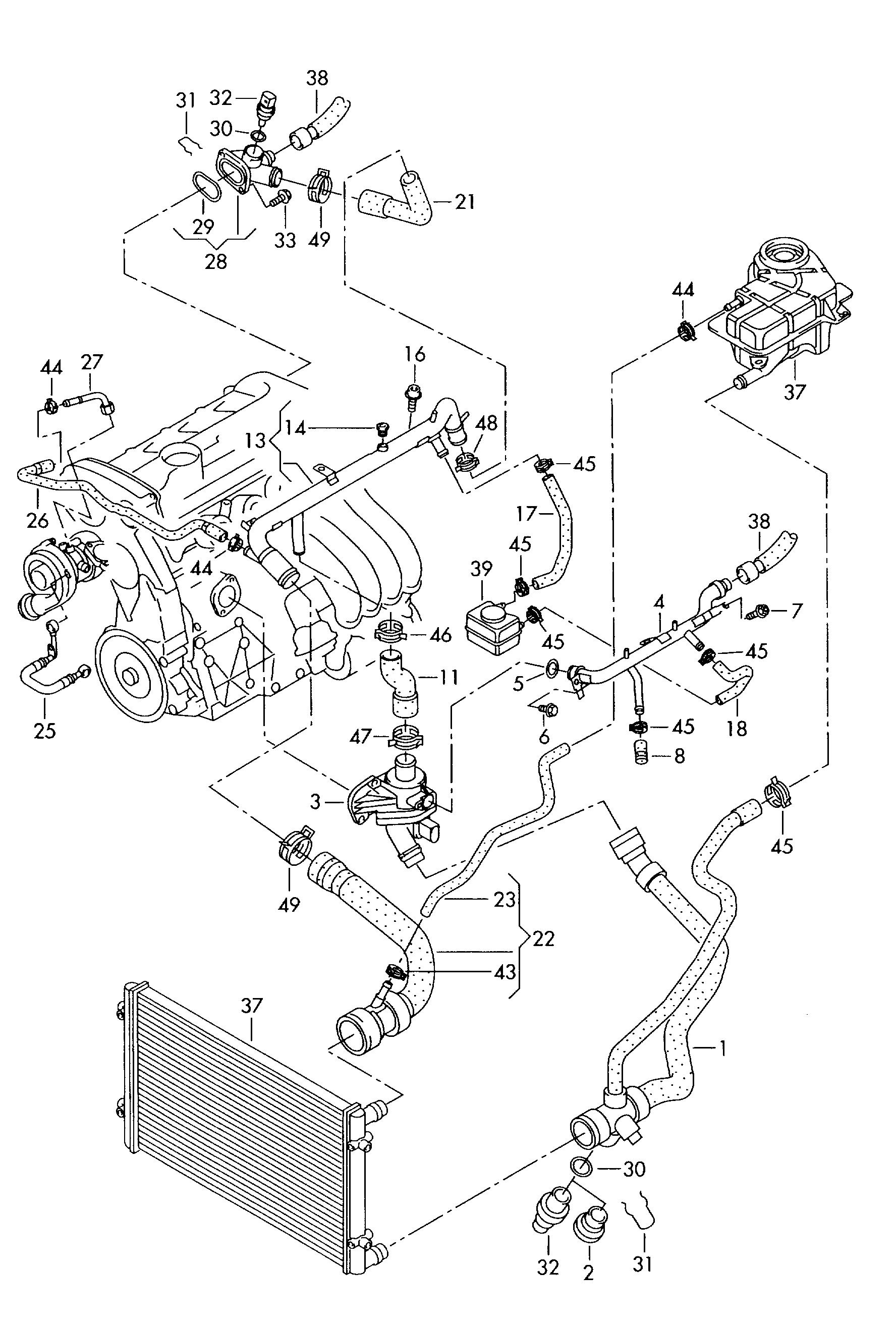 Audi 1 8 Engine Diagram - Coleman Thermostat Wiring Diagram for Wiring Diagram  Schematics | Audi Engine Diagram Audi A4 1 8 |  | Wiring Diagram Schematics