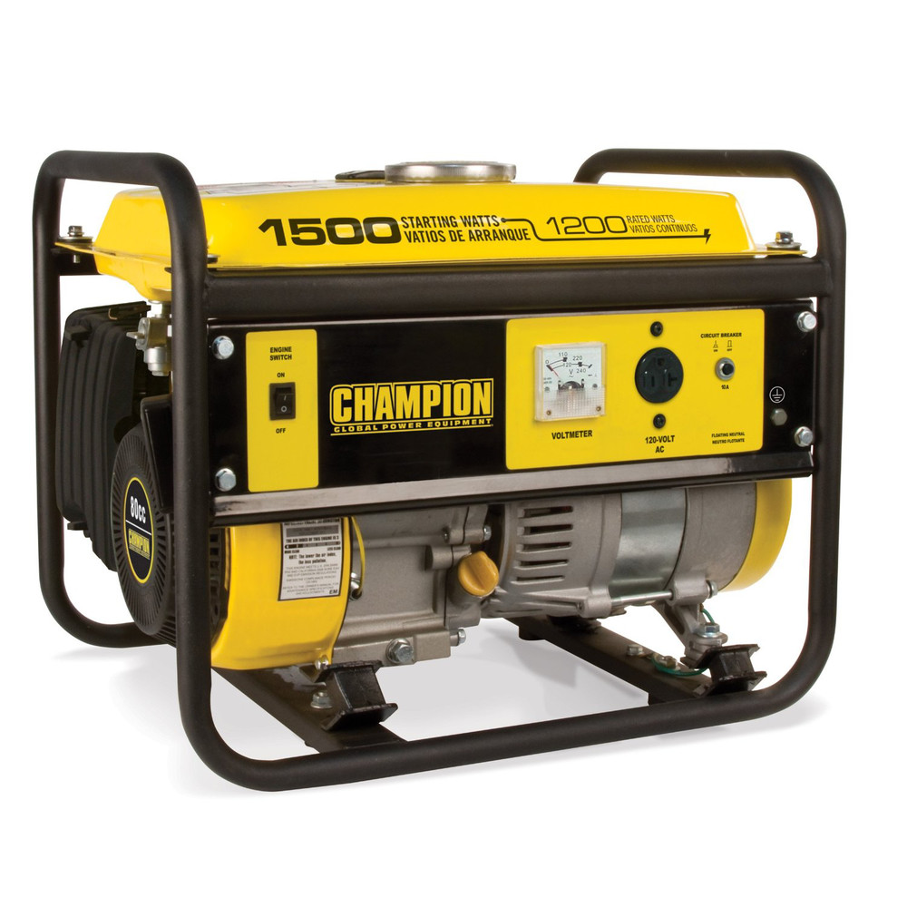 Outstanding Champion 42436 1200 Watt Portable Generator Walmart Com Wiring Cloud Hemtshollocom