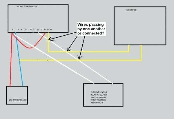 Aprilaire 500m Wiring Diagram
