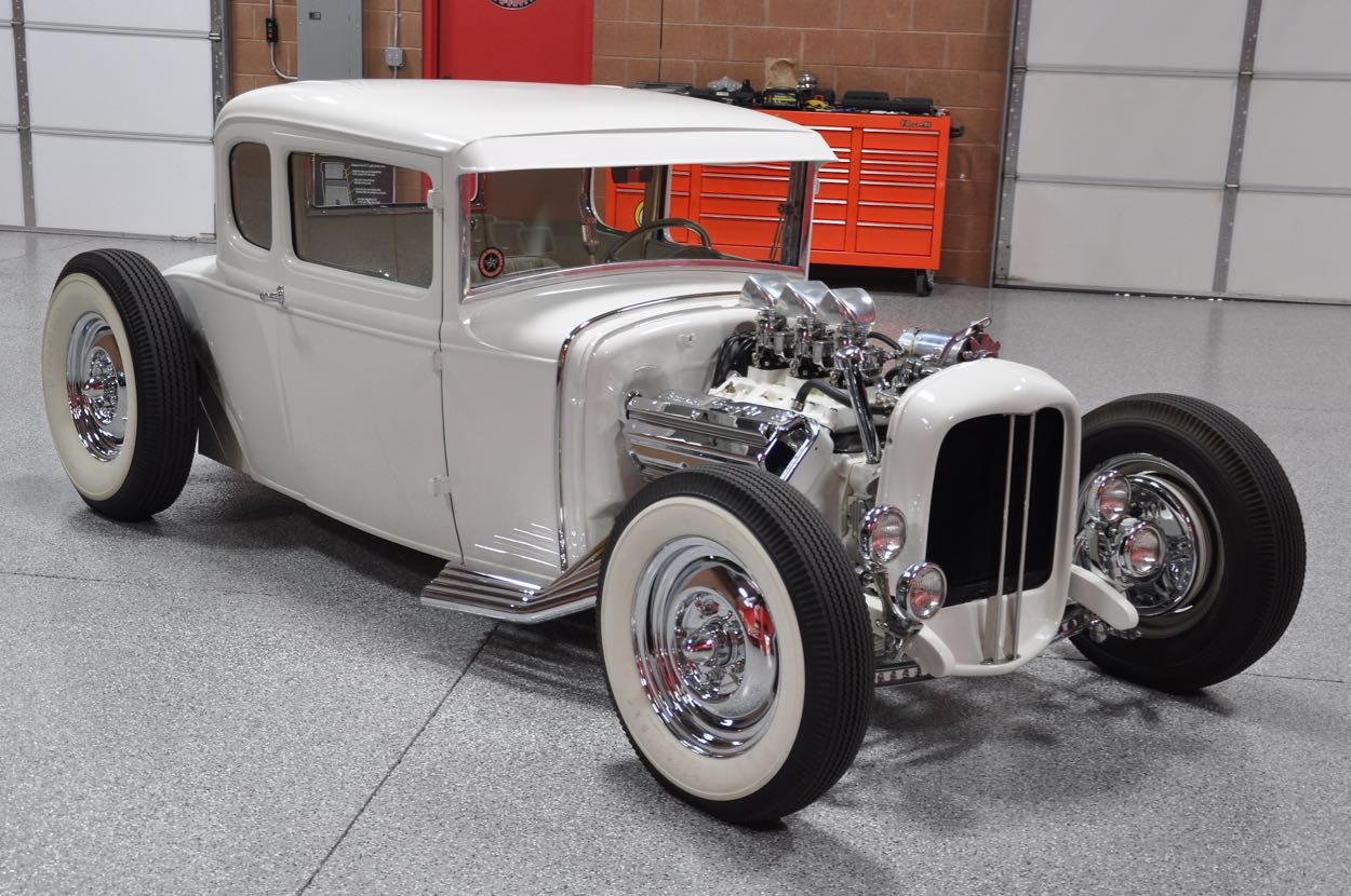 Wondrous Paul Sr S 1930 Ford Model A Coupe Red Hills Rods And Choppers Inc Wiring Cloud Filiciilluminateatxorg