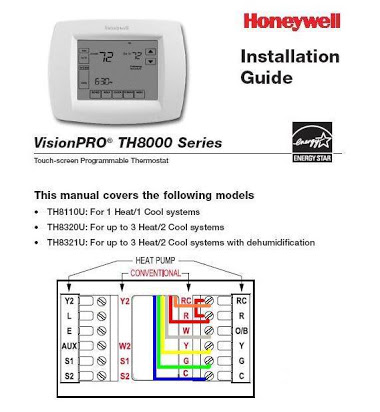 honeywell rth7400 thermostat wiring diagram 7 way bargman