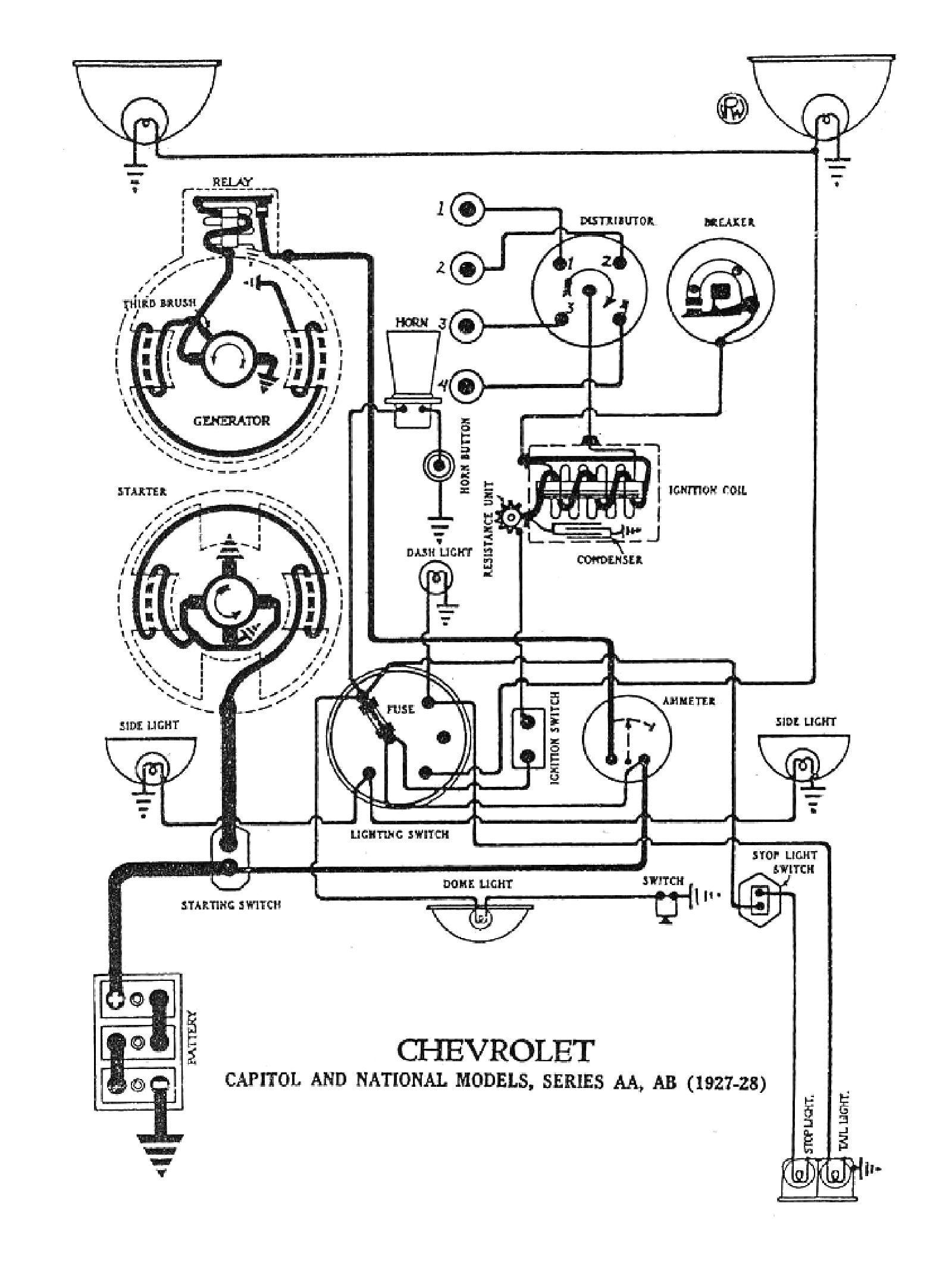 1930 Ford Model A Wiring Diagram - Wiring Diagram