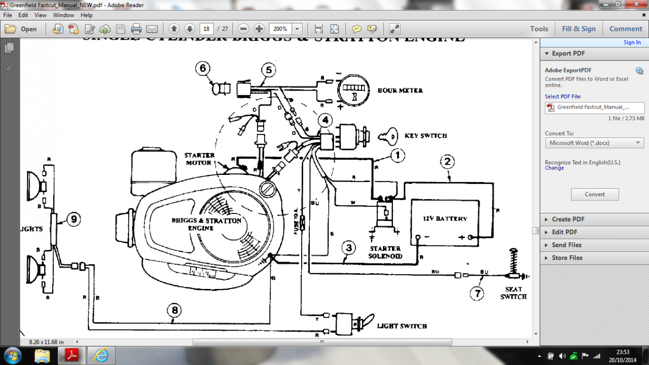 Pleasing Wrg 1635 11 Hp Briggs And Stratton Engine Wiring Diagram Wiring Cloud Hemtegremohammedshrineorg