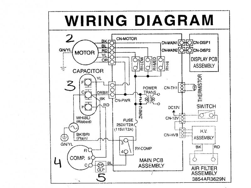 lg window air conditioner wiring diagram  2007 gmc fuel