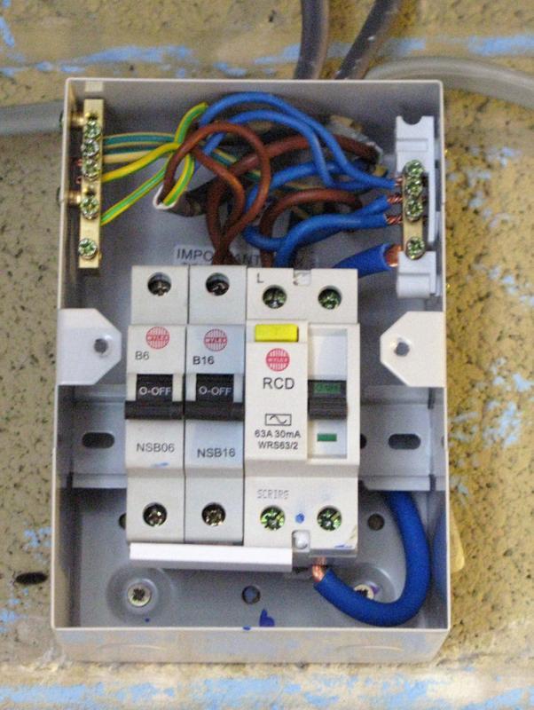 fuse box in garage es 5615  chint garage consumer unit wiring diagram consumer unit  garage consumer unit wiring diagram