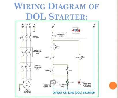 Dol Starter Circuit Wiring Diagram - Wiring Diagram and ...