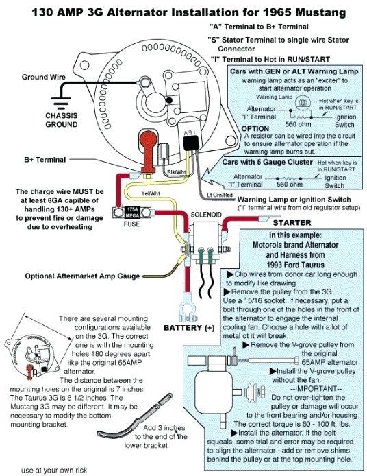 a mustang 3g alternator wiring diagram  fuse box on 2002