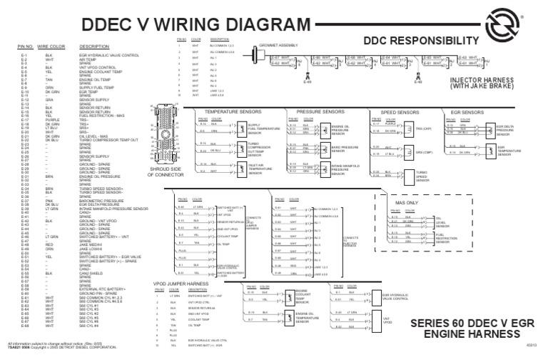 HR_0723] Ddec 5 Wiring Schematic Wiring DiagramWww Mohammedshrine Librar Wiring 101