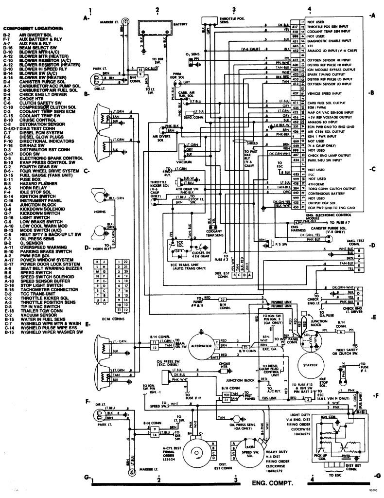 1995 yukon wiring diagram 95 tahoe wiring diagram wiring diagram e6  95 tahoe wiring diagram wiring diagram e6