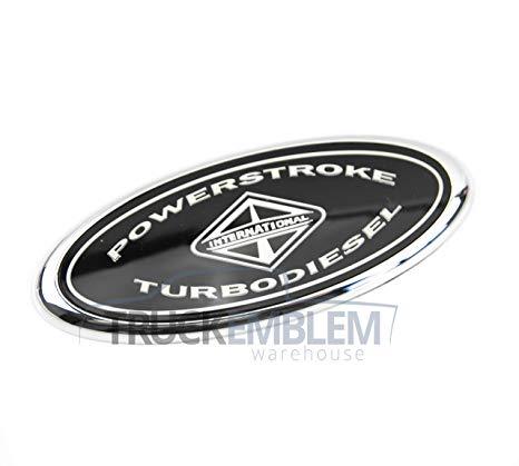 Matte black Fender Decals Replacement for F250 F350 F450 2Pcs Power Stroke Turbo Diesel V8 Emblems
