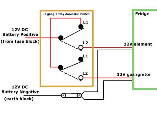 12v 2 Way Switch Wiring Diagram