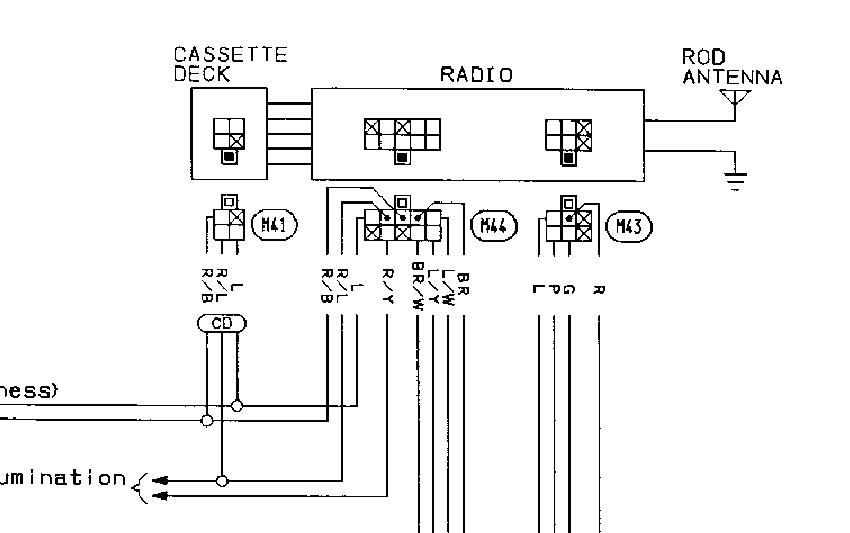 2002 Nissan Altima Car Stereo Radio Wiring Diagram - Collection