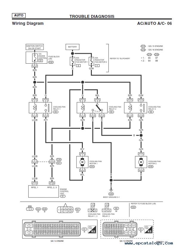 Nissan Almera Wiring Diagram