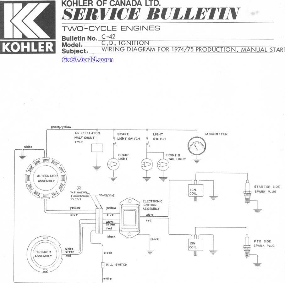 Kohler Engine Electrical Diagram Economy -3 Circuit Universal Wiring  Harness Kit | Begeboy Wiring Diagram SourceBegeboy Wiring Diagram Source