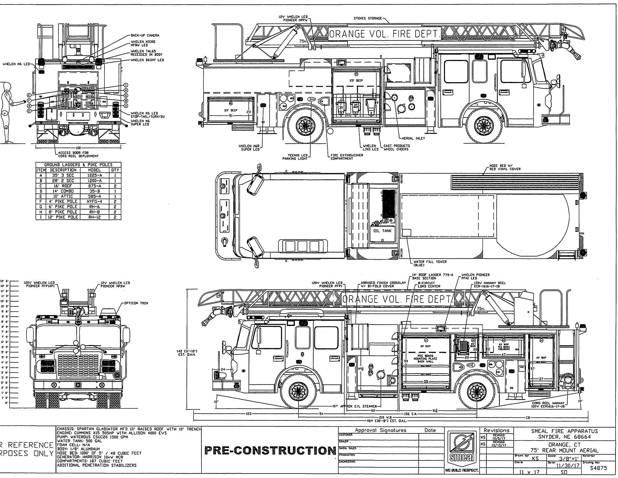 Yx 9158  Diagram Of Pierce Fire Engine Free Diagram