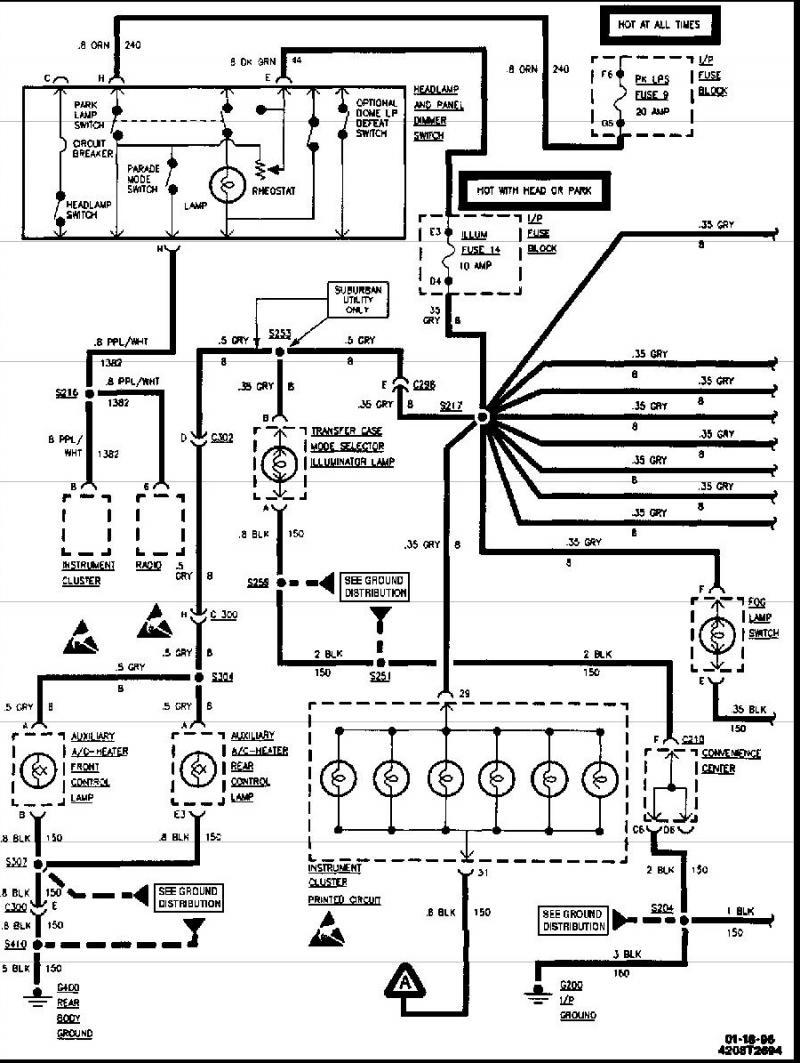 96 K1500 Wiring Harness Diagram Wiring Schematic For 1996 Chevrolet K1500 Silverado Bedebis Waystar Fr