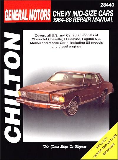 Awe Inspiring Chevelle El Camino Malibu Monte Carlo Repair Manual 1964 1988 Wiring Cloud Histehirlexornumapkesianilluminateatxorg
