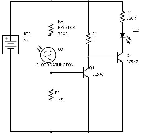 Outstanding Phototransistor Dark Detector Circuit Electrical Engineering Stack Wiring Cloud Rometaidewilluminateatxorg