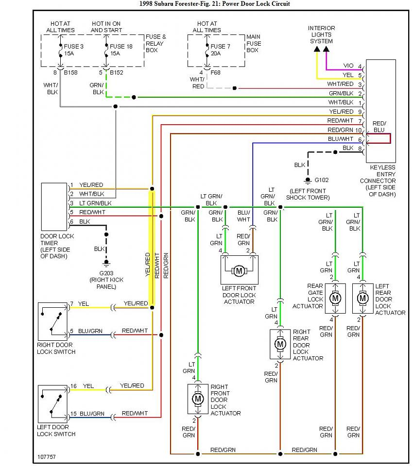 2007 Subaru Wiring Diagram