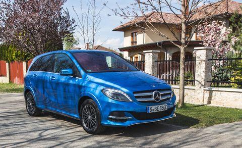 Remarkable 2017 Mercedes Benz B Class Ev Quick Take Review Car And Driver Wiring Cloud Histehirlexornumapkesianilluminateatxorg